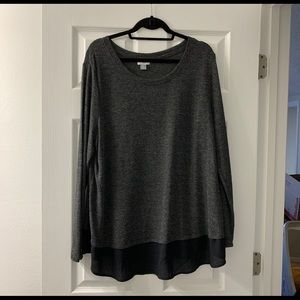 Old Navy | long sleeve shirt with blouse detail